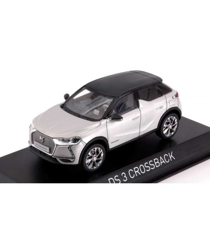 DS 3 CROSSBACK E-TENSE 2019 PEARL /& BLACK ROOF 1:43